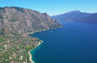 Aerial photo of Limone