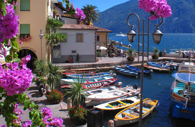 Old port of Limone