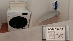 Laundry and ironing